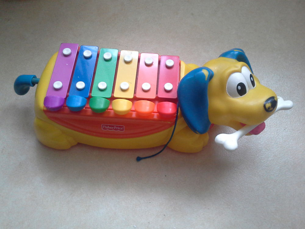 Chien xylophone Fisher Price 5 Toulouse (31)