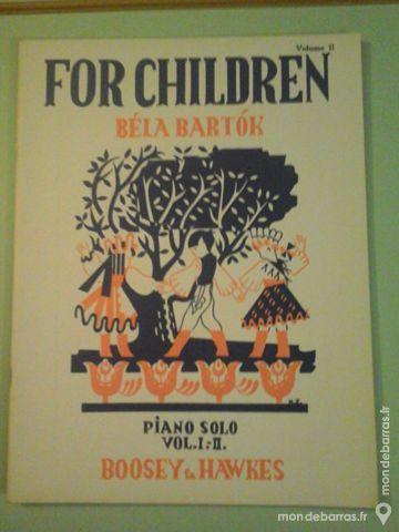 FOR CHILDREN VOL 2 POUR PIANO-BELA BARTOK 8 Albi (81)