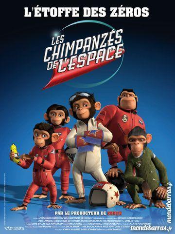 K7 Vhs: Les Chimpanzés de l'Espace (521) 6 Saint-Quentin (02)