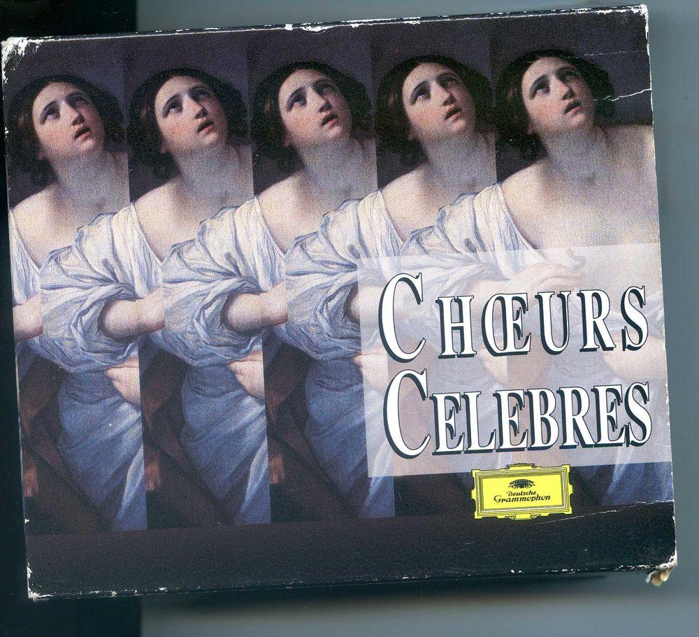 Choeurs célèbres - 5 CD, 15 Rennes (35)