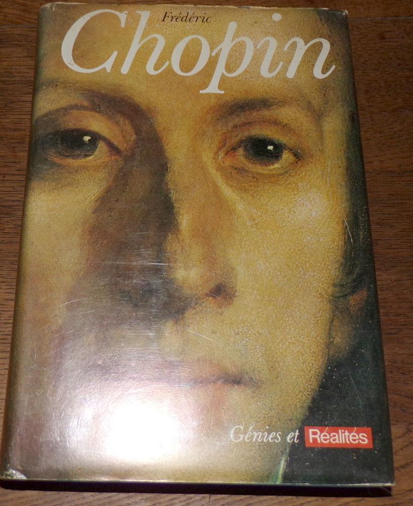 Chopin Génies et réalités édition Hachette Camille Bournique 20 Laval (53)