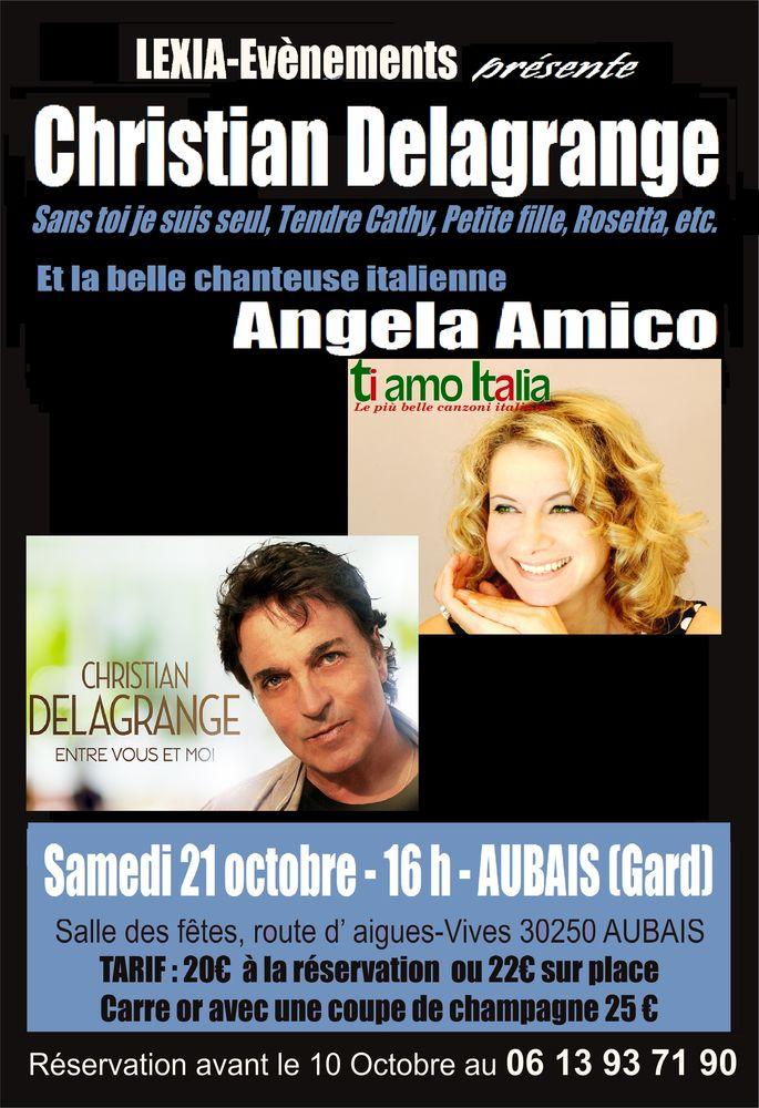 Christian Delagrange et Angela Amico en concert à Aubais  20 Teyran (34)