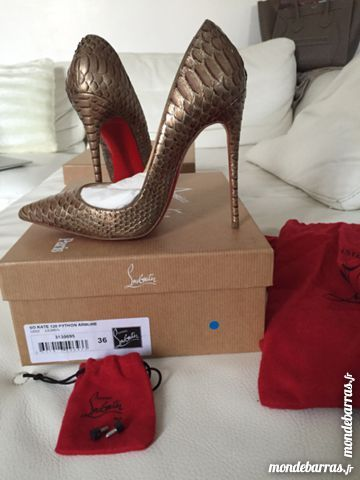 christian louboutin occasion