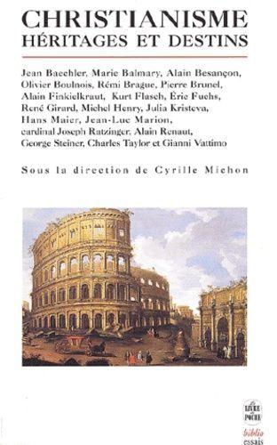 Christianisme: héritages et destins, discussions 6 Saint-Germain-en-Laye (78)