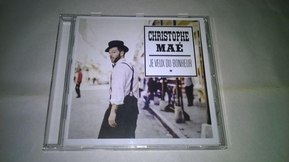 CD Christophe Maé Je veux du bonheur 2013 Excellent etat 10 Talange (57)