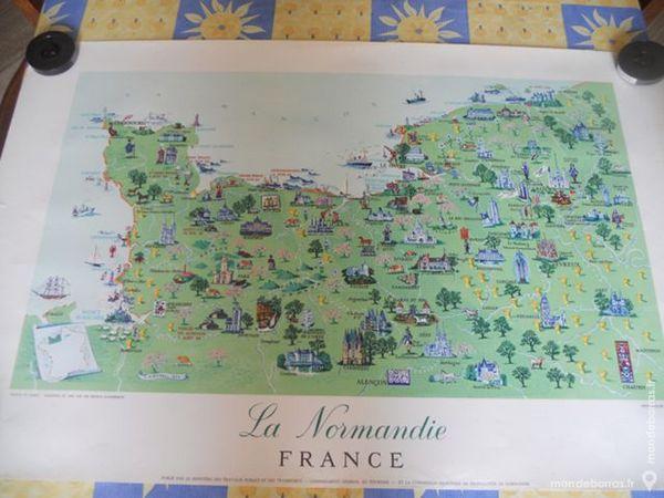 chromolithographie   la Normandie  15 Roclincourt (62)