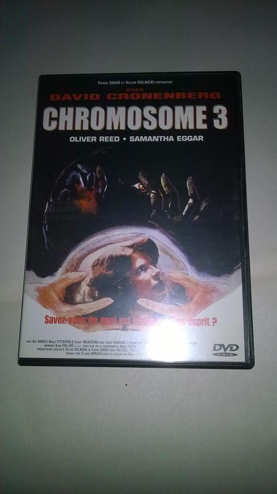 DVD Chromosome 3 1979 Bon etat Soignée pour des problèmes 5 Talange (57)
