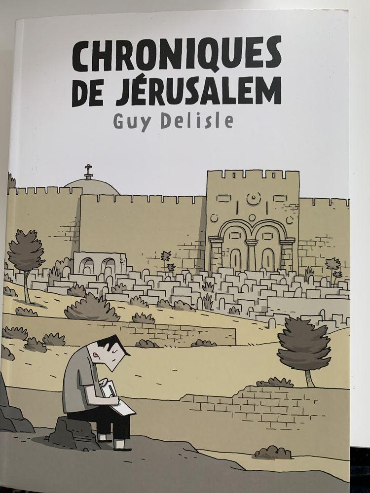 Chroniques de Jérusalem de Guy Delisle 0 Bordeaux (33)