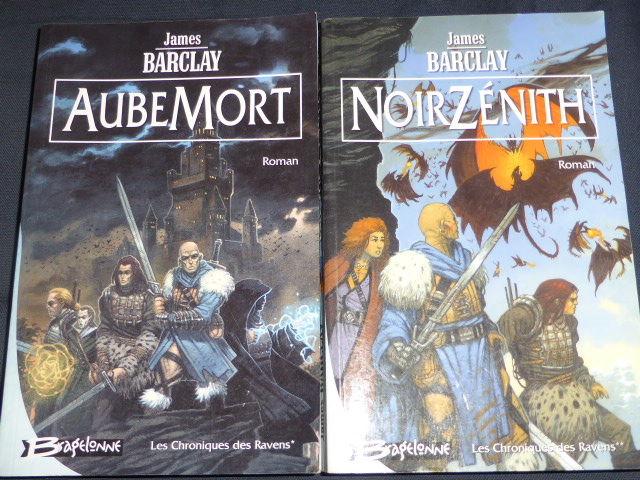 Les chroniques de Raven tome 1 et 2 James Barclay 10 Rueil-Malmaison (92)