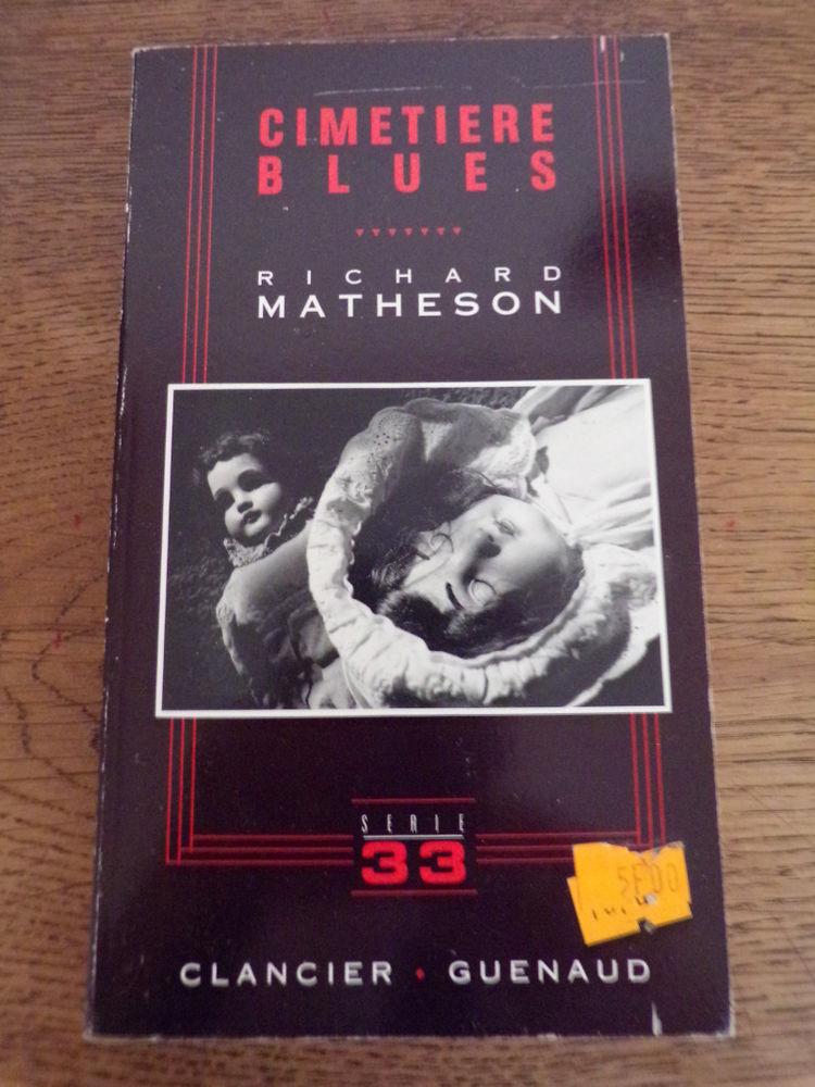 Cimetière blues Richard Matheson éditions Clancier-Guénaud  1 Laval (53)