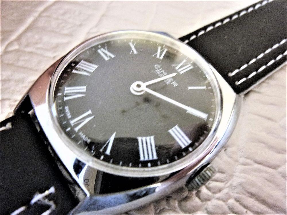CIMIER LAPANOUSE montre mécanique Suisse 1975 CIM1001 170 Metz (57)