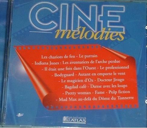 CD CINE MELODIES 2 Les Églisottes-et-Chalaures (33)
