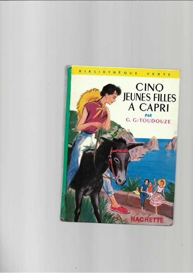 Cinq Jeunes Filles A Capri  n°68 de 1961 3 Saint-Jean-d'Angély (17)