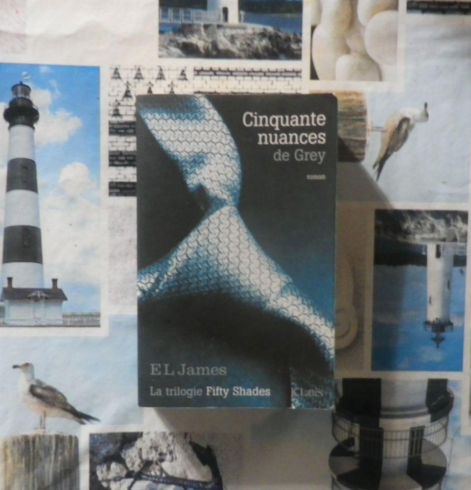 CINQUANTE NUANCES DE GREY de El JAMES Ed. JC LATTES 5 Bubry (56)