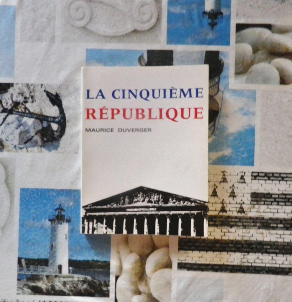 LA CINQUIEME REPUBLIQUE par Maurice DUVERGER Livres et BD