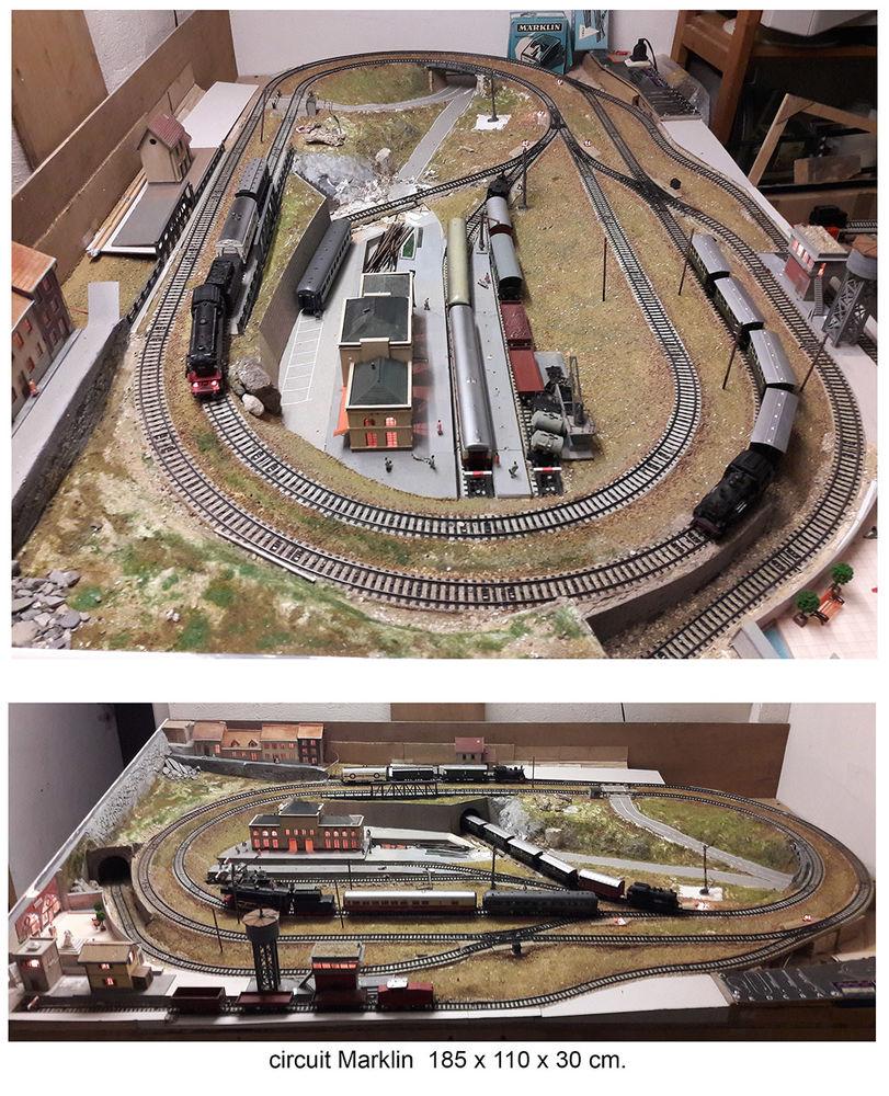 circuit Train Marklin HO 2500 Brie-Comte-Robert (77)