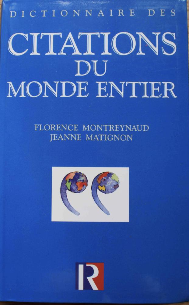 Citations de monde entier - Florence Montreynaud, 10 Rennes (35)