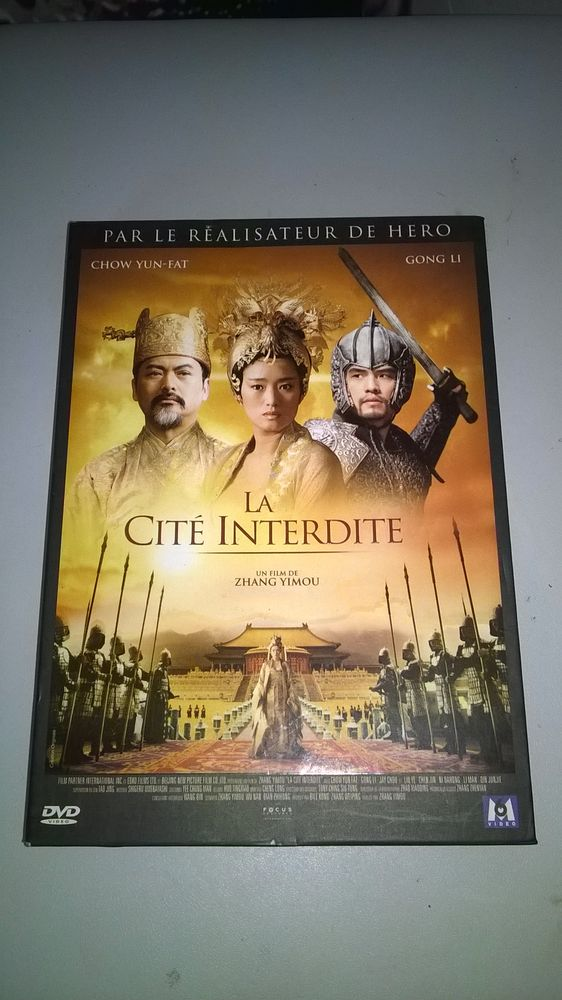 DVD La Cité interdite ZHANG YIMOU Excellent etat 2006 En 5 Talange (57)
