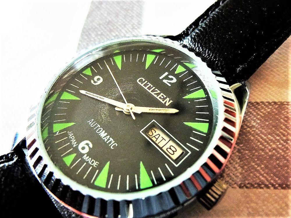 CITIZEN 8200A montre automatique homme 1980 CIT1001 120 Metz (57)