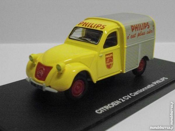 Citroën 2 cv camionnette Philips