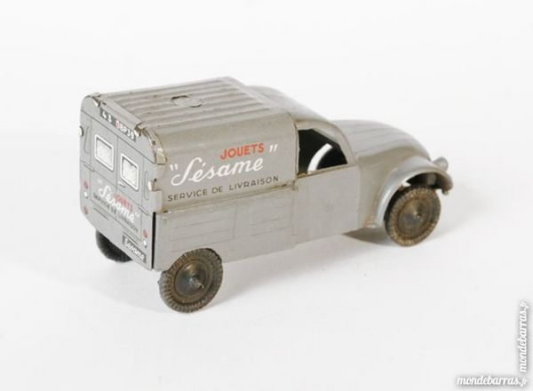 Citroen 2CV fourgonnette SESAME jouet années 1960' 40 Lyon 1 (69)