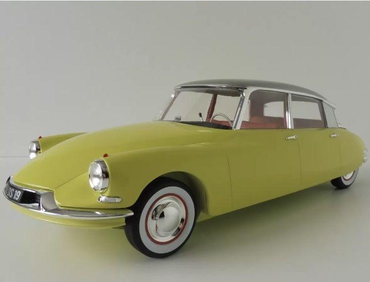 Citroën id19 ds19 berline de 1958 au 1/12 140 Bouafle (78)
