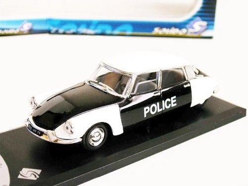 1;43 (NF EN BTE) NEW* CITROEN DS 19 POLICE .1956