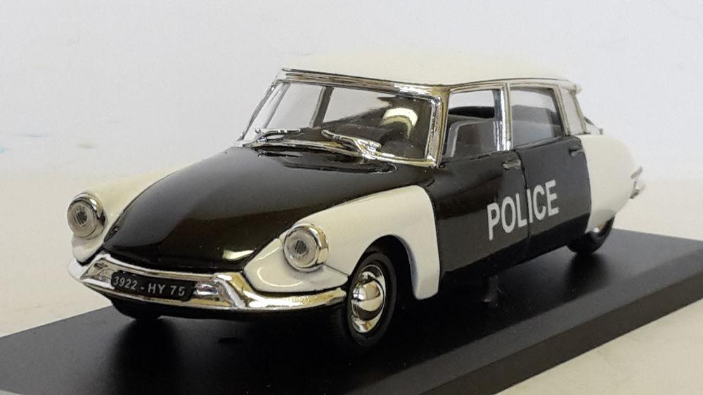 Citroën DS 19 Police Pie 18 Follainville-Dennemont (78)