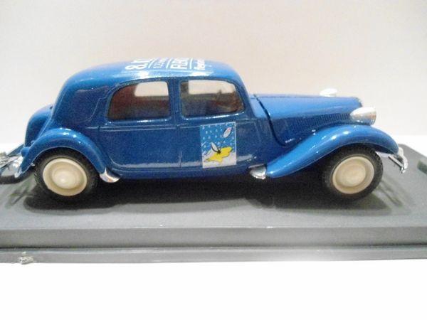 Citroën traction 15 cv 1952 8ème ICCCR - Hollande 32 Follainville-Dennemont (78)