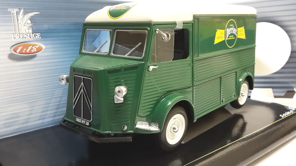 Citroën type H fourgon PERRIER 1962 58 Follainville-Dennemont (78)