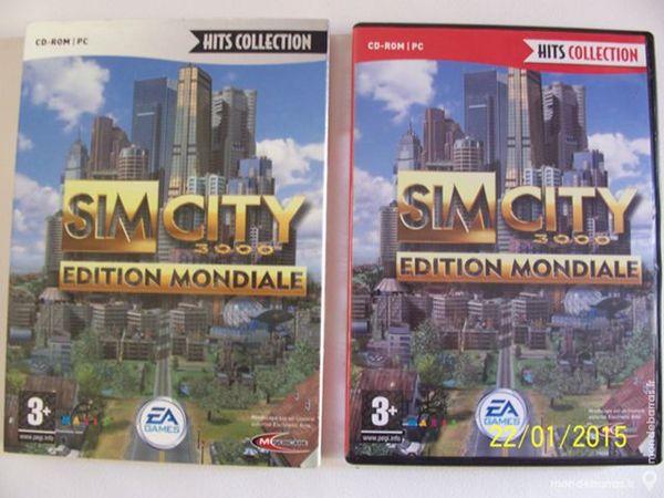 JEU DE PC SIM CITY 3000 EDITION MONDIALE 10 Les Églisottes-et-Chalaures (33)
