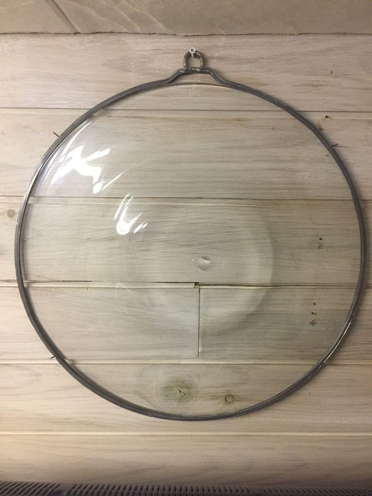 cive  ou cu de boiteille en verre soufflé grand diamètre 150 Montreuil (93)