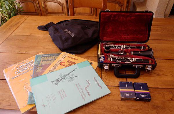 Clarinette Yamaha SI bemol YCL 26II 350 Jonage (69)