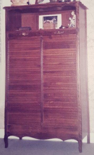 Classeur bois à rideau 50 Le Petit-Quevilly (76)
