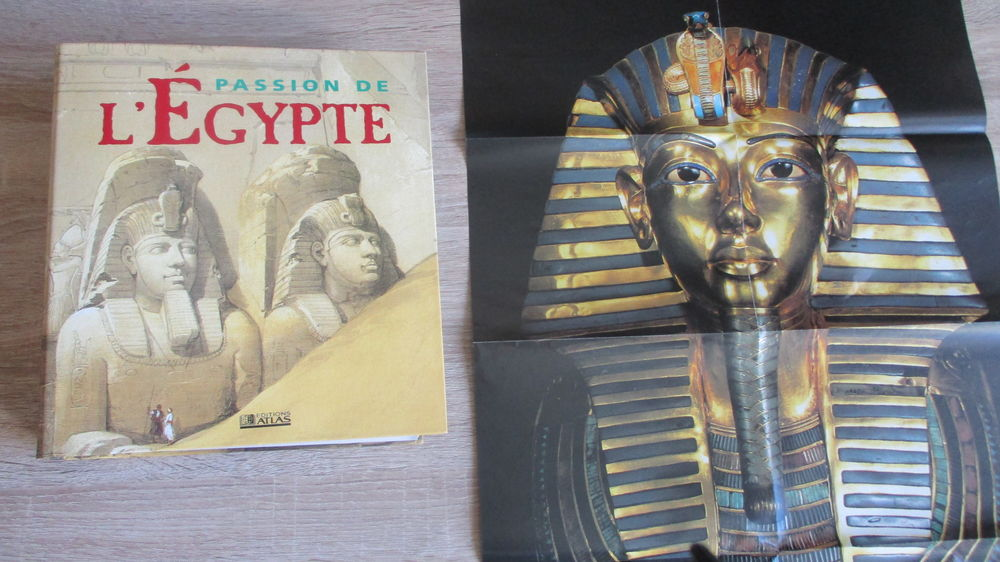 1 Classeur  Passion de l'Egypte  19 Le Vernois (39)