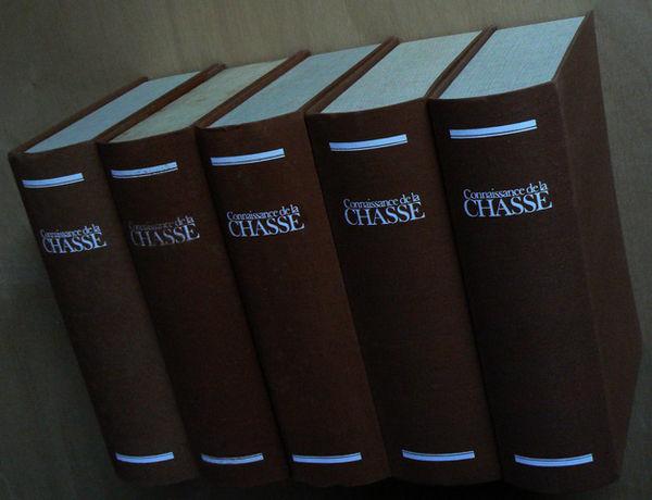 5 classeurs de 62 anciennes revues CONNAISSANCE DE LA CHASSE Sports
