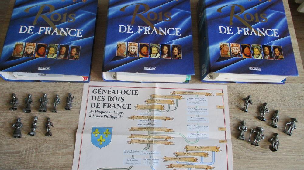 3 Classeurs Rois de France 35 Le Vernois (39)