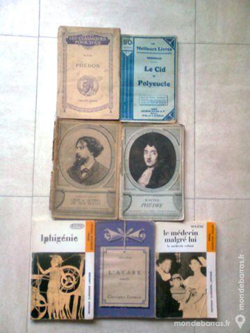 Classiques anciens - Racine,Platon,Corn….-zoeads Livres et BD