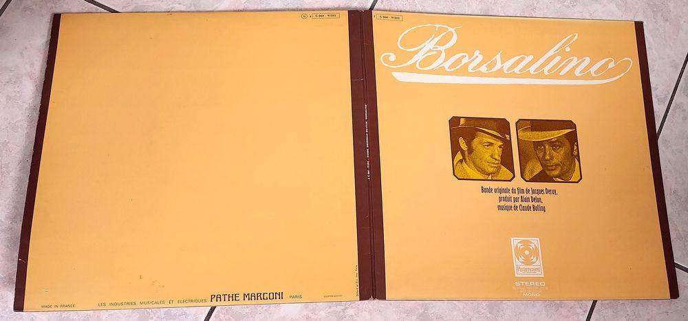 CLAUDE BOLLING -33t- BOF BORSALINO-BELMONDO-DELON-BIEM 1970 8 Tourcoing (59)