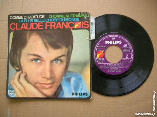 EP CLAUDE FRANCOIS Comme d'habitude 13 Nantes (44)