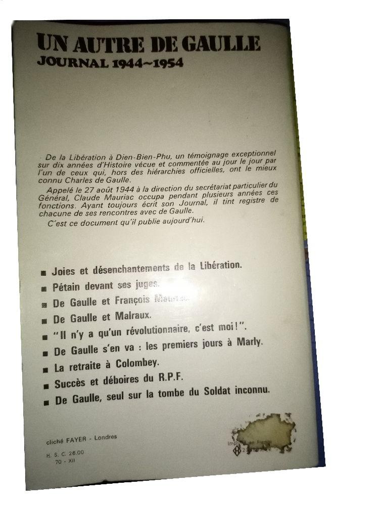 Claude MAURIAC Un autre De Gaulle 2 Mazingarbe (62)