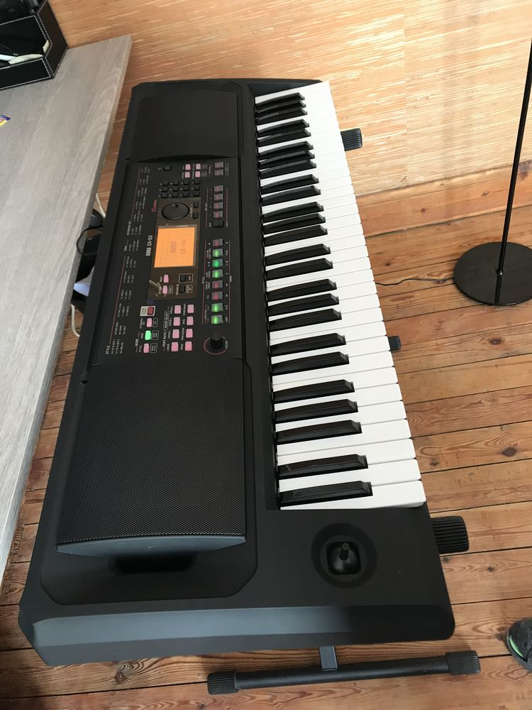 clavier arrangeur Korg EK-50 Limitless 450 Crespin (59)