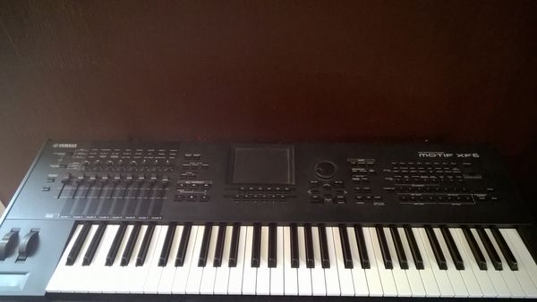 Clavier arrangeur Yamaha motif XF6 FL512M 0 Lagorce (33)