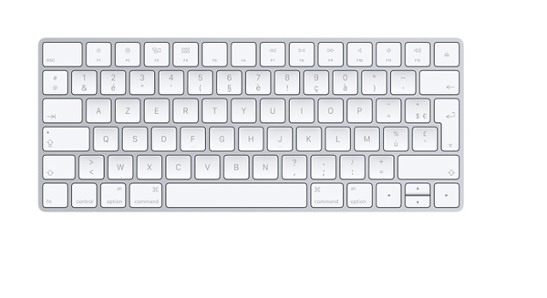 clavier informatique sans fil apple 60 Niort (79)