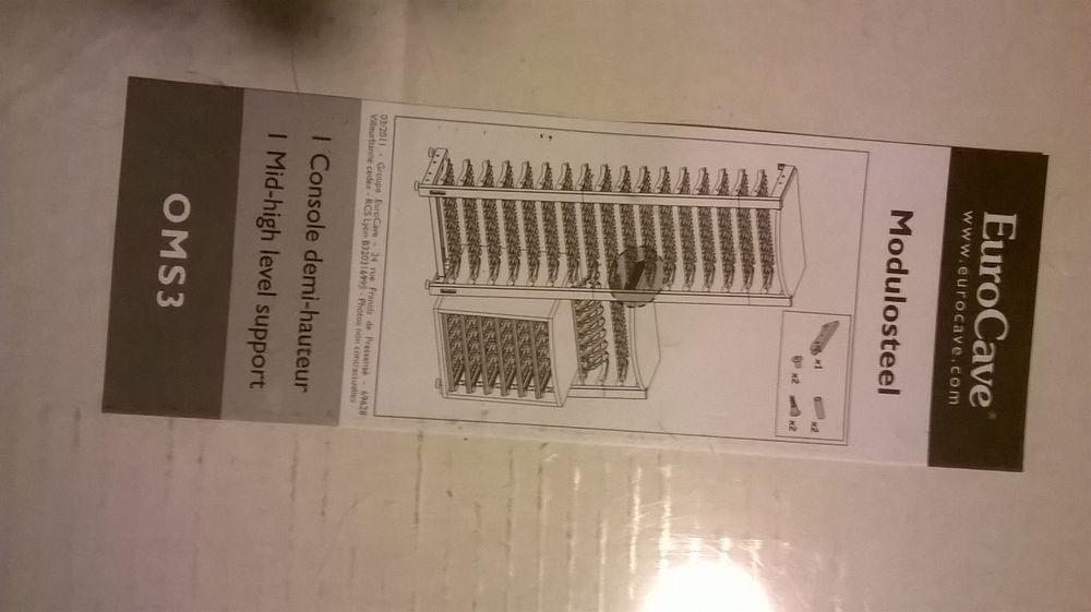 LOT DE 6 CLAYETTES MODULORACK EUROCAVE Electroménager