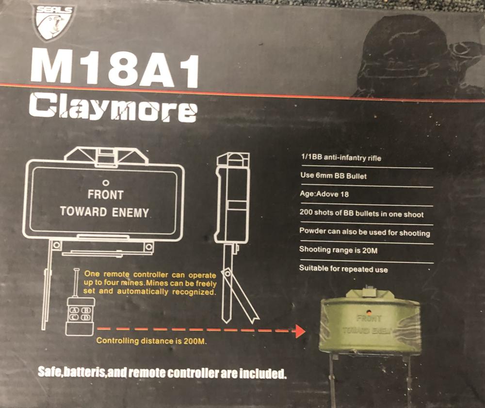 Claymore M18A1 Airsoft  55 Annœullin (59)
