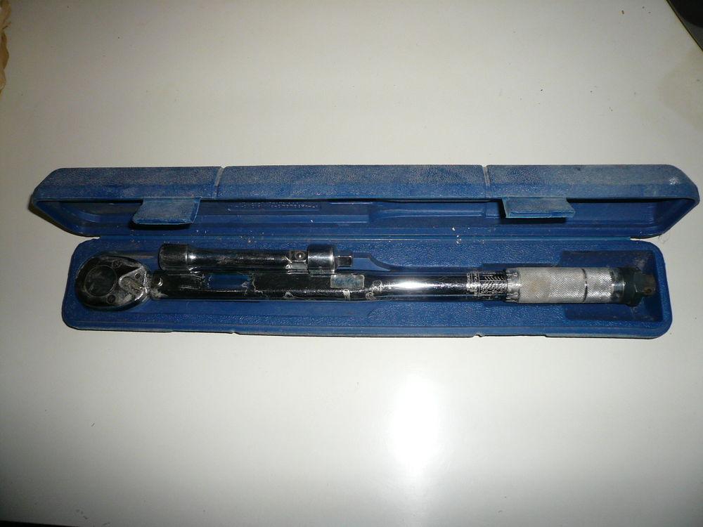 Clef dynamométrique avec coffret 125mm 42-210Nm 50 Saint-Laurent-en-Grandvaux (39)