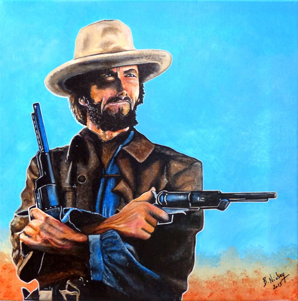 CLINT EASTWOOD 95 Steinbourg (67)