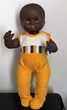 CLODREY Baigneur Poupon Noir 38 cm Jeux / jouets