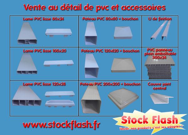 Clôture et claustra PVC Bricolage